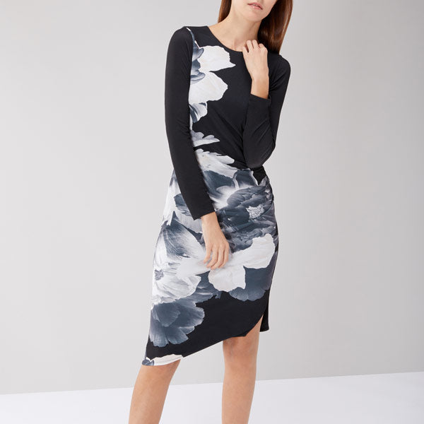 New Valley Print Jersey Dress