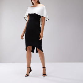 Zahra Bardot Shift Dress