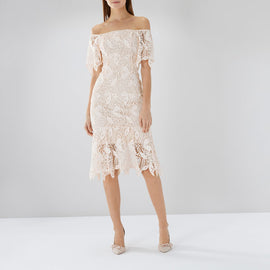 Tanya Lace Shift Dress
