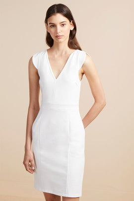 Lulu Lolo Stretch Bodycon Dress - summer white