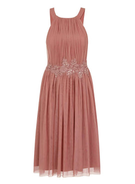 Womens **Little Mistress Orange Prom Dress- Orange