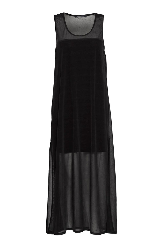 French Connection Celia Jersey Maxi Dress- Black