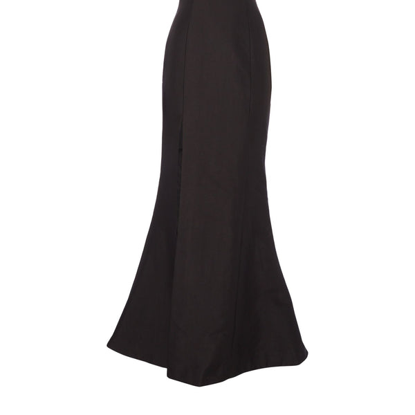 CMEO One shoulder gown- Black