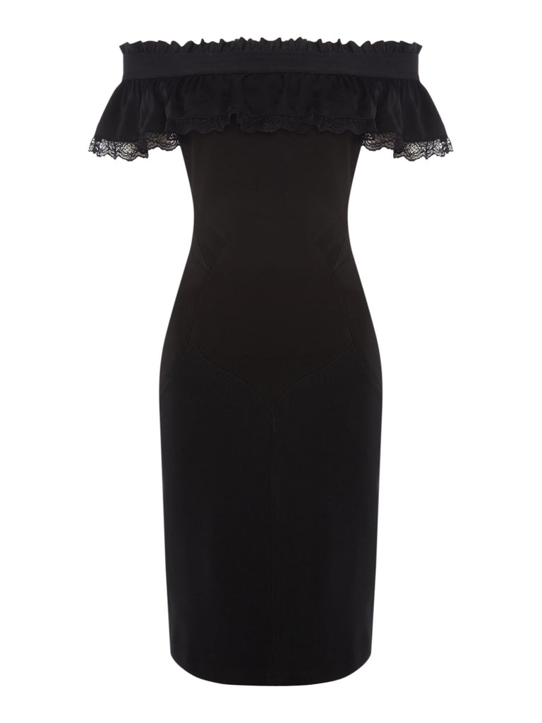 Diesel D-Catrin Dress- Black