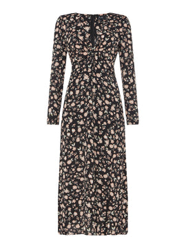 Bardot Winter floral dress- Jasmine Floral Print