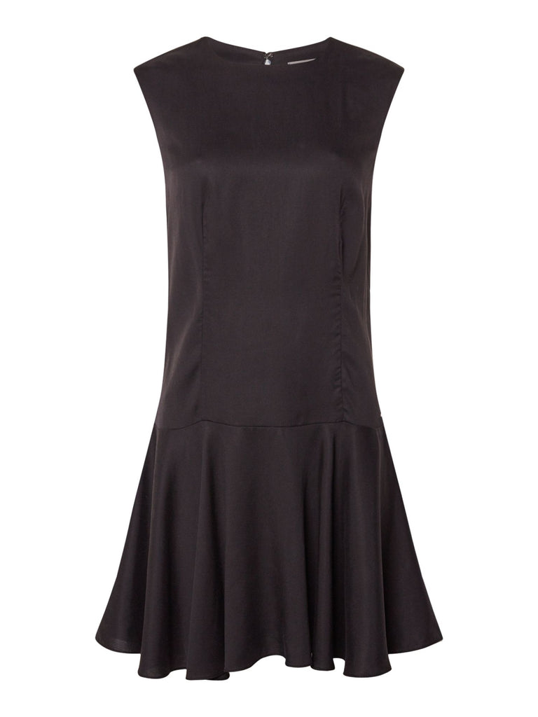 Calvin Klein Fit and Flare Dress- Black