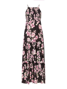 Free People Garden Party Floral Maxi Dress- Multi-Coloured