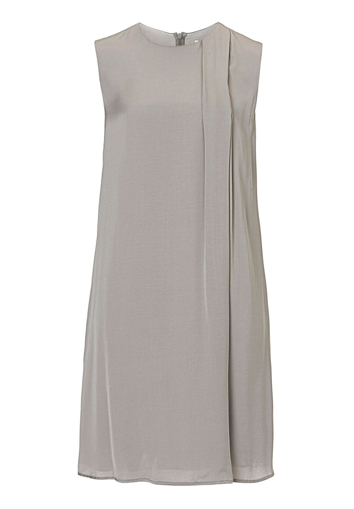 Betty & Co. Satin shift dress- Grey