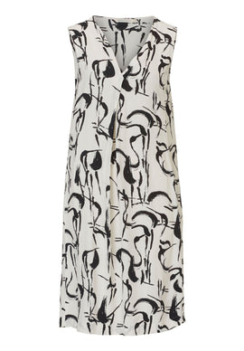 Betty & Co. Printed dress- Multi-Coloured