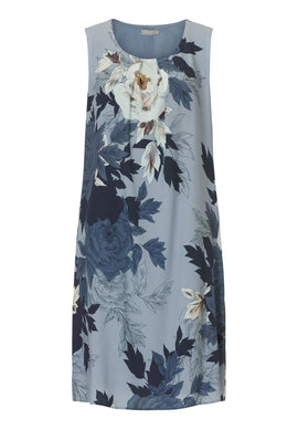 Betty & Co. Garden print dress- Multi-Coloured