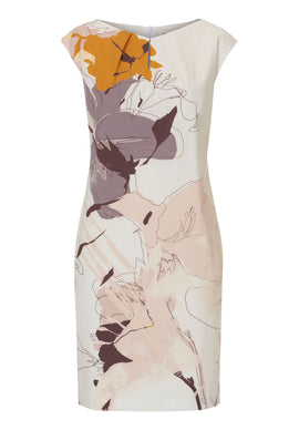Betty & Co. Floral print shift dress- Multi-Coloured