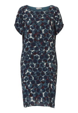 Betty & Co. Graphic print dress- Multi-Coloured