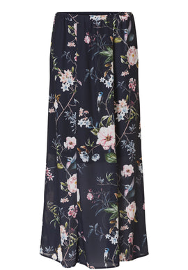 Betty Barclay Floral Print Maxi Skirt- Multi-Coloured