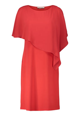 Betty Barclay Double Layer Dress- Red