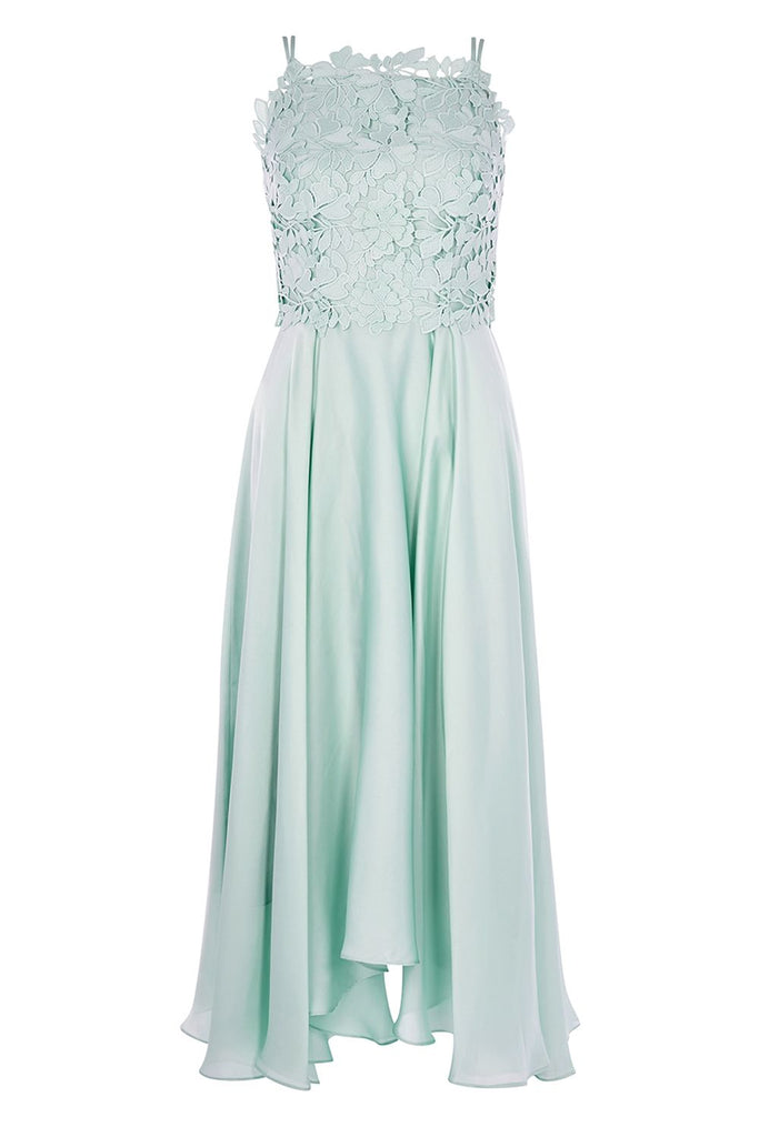 Coast Janie Lace Midi Dress- Mint
