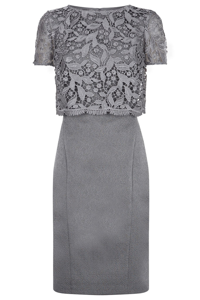 Fenn Wright Manson Rockwell Dress- Grey
