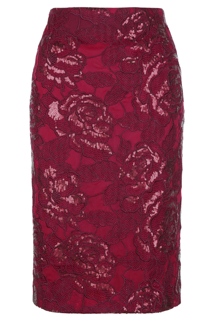 Fenn Wright Manson Volcano Skirt- Red