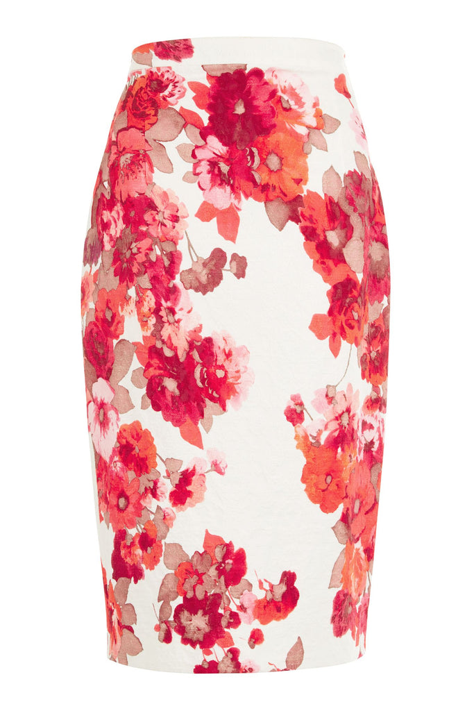 Damsel in a Dress Preppy Pencil Skirt- Multi-Coloured