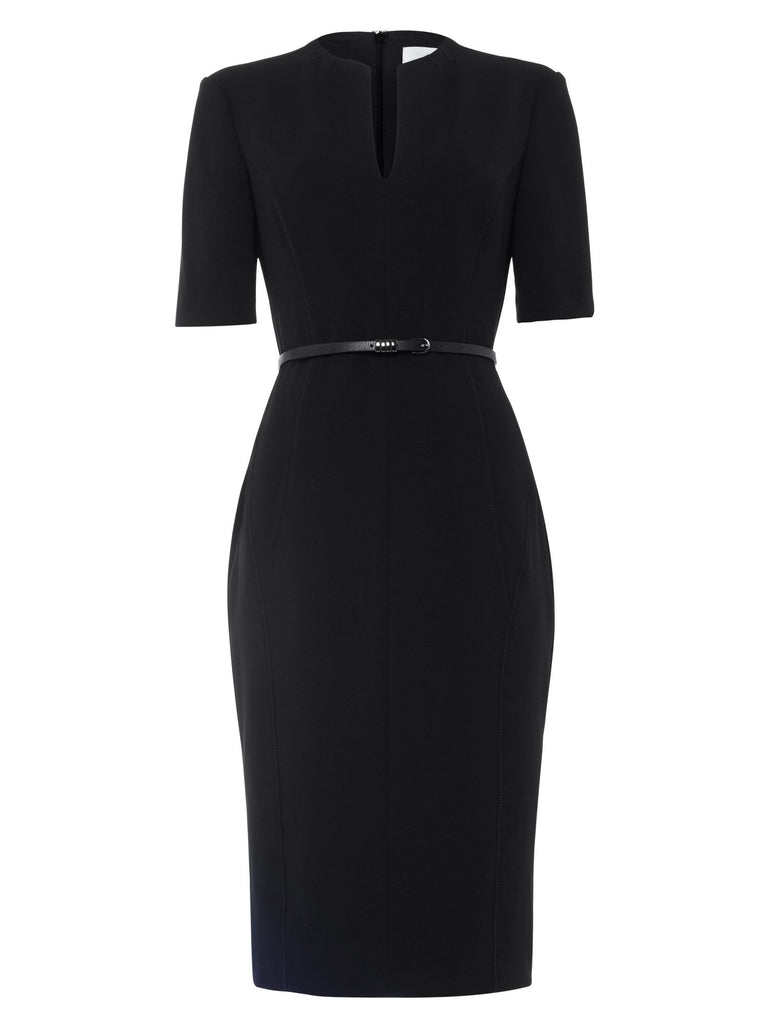 Damsel in a Dress City Suit Dress- Black