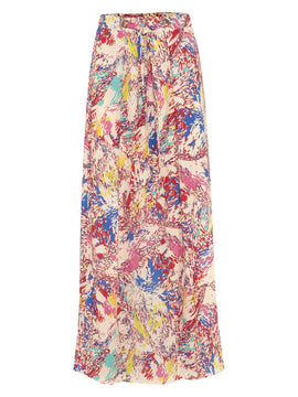 Damsel in a Dress Audrina Print Maxi Skirt- Multi-Coloured