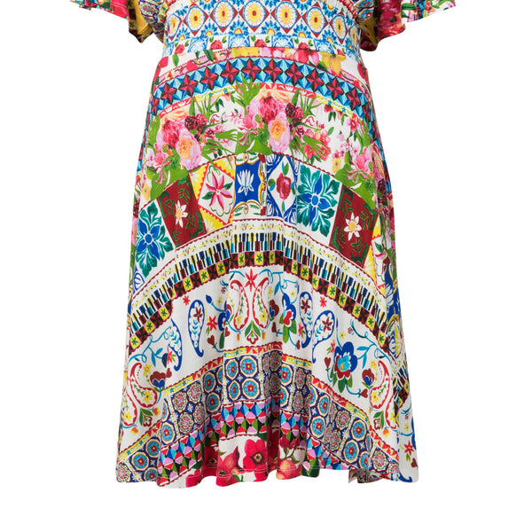 Desigual Dress Leyla- Multi-Coloured