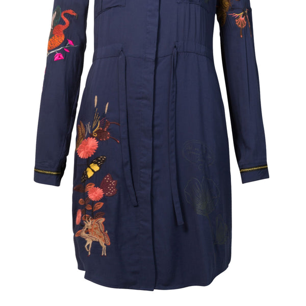 Desigual Dress Jazmin- Blue