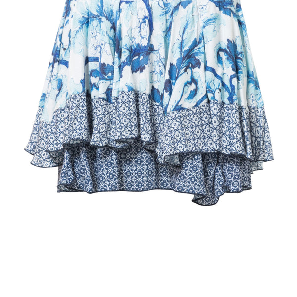 Desigual Skirt The Vibrations- Blue