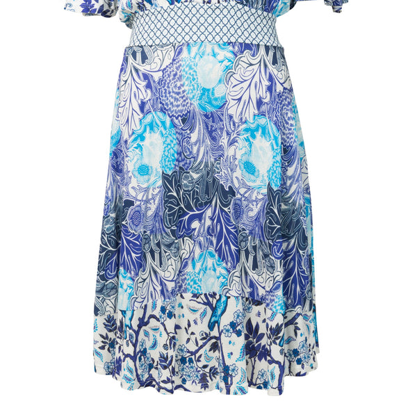Desigual Dress Nerium Oleander- Blue