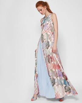 Sea Of Clouds Maxi Dress