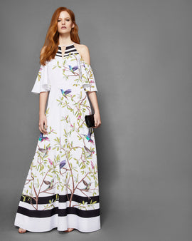 Highgrove Cold Shoulder Maxi Dress