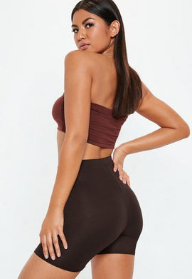 Brown Cycling Shorts- Brown