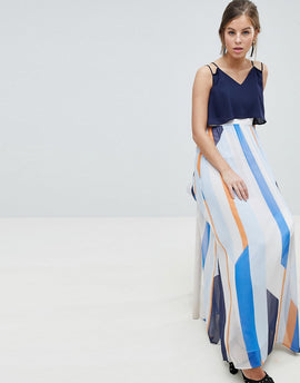 Coast Suri Striped Maxi Dress - Multi
