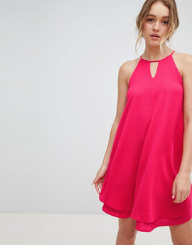Only Keyhole Summer Dress - Pink