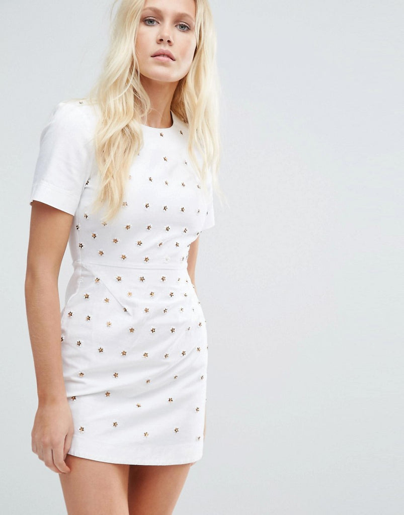 Little White Lies Liah Dress - White