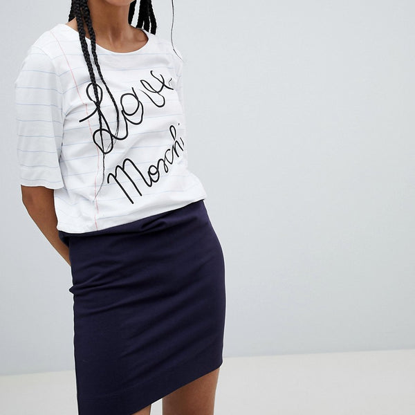 Love Moschino Contrast T-Shirt Dress - Y78