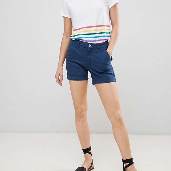JDY Chino Shorts - Blue