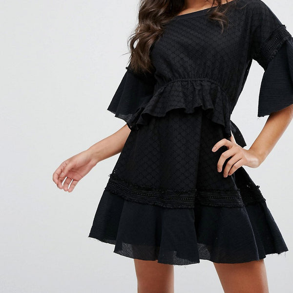 Stevie May Camus Mini Dress - Black