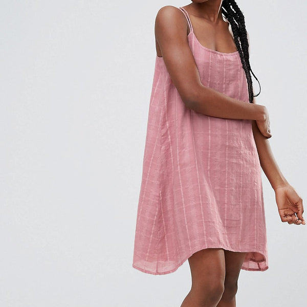 Bellfield Senna Strappy Cami Dress - Pink