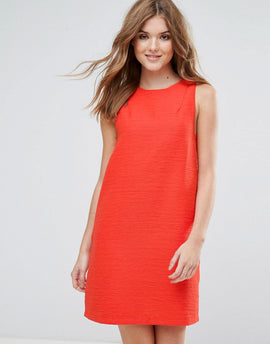 Lavand Sleeveless Shift Dress - C