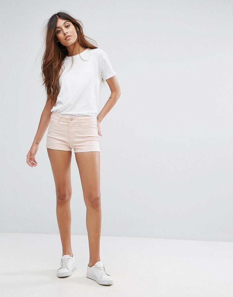 Vero Moda Denim Shorts - Peach whip