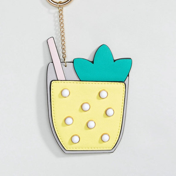 ASOS Cocktail Bag Charm Key Ring - Multi