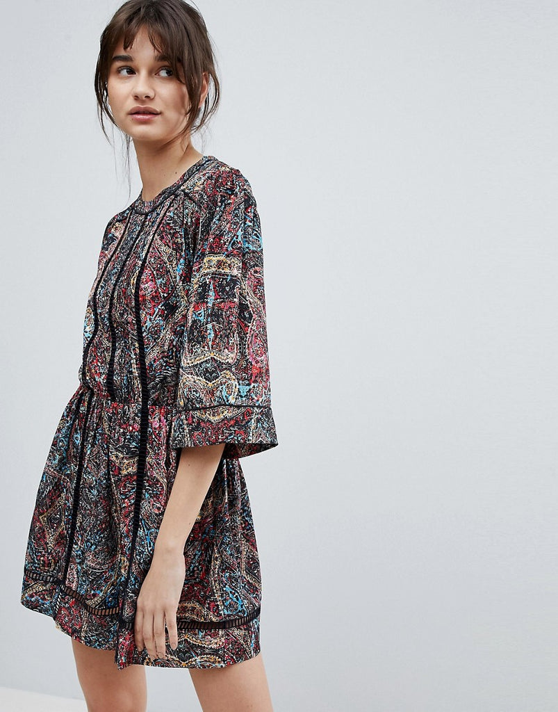 d.Ra Kenzie Printed Shift Dress - Asian kaleid