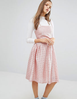 STYLENANDA Prom Party Dress - Pink