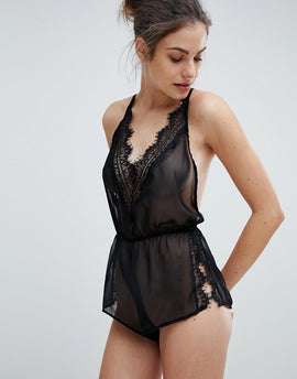 Bluebella Penelope Playsuit - Black