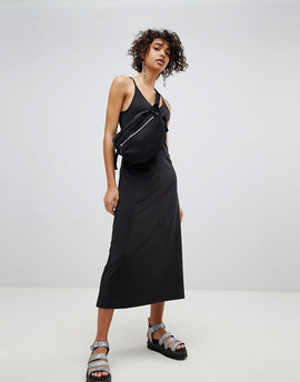 Cheap Monday Lo Back Long Dress - Black