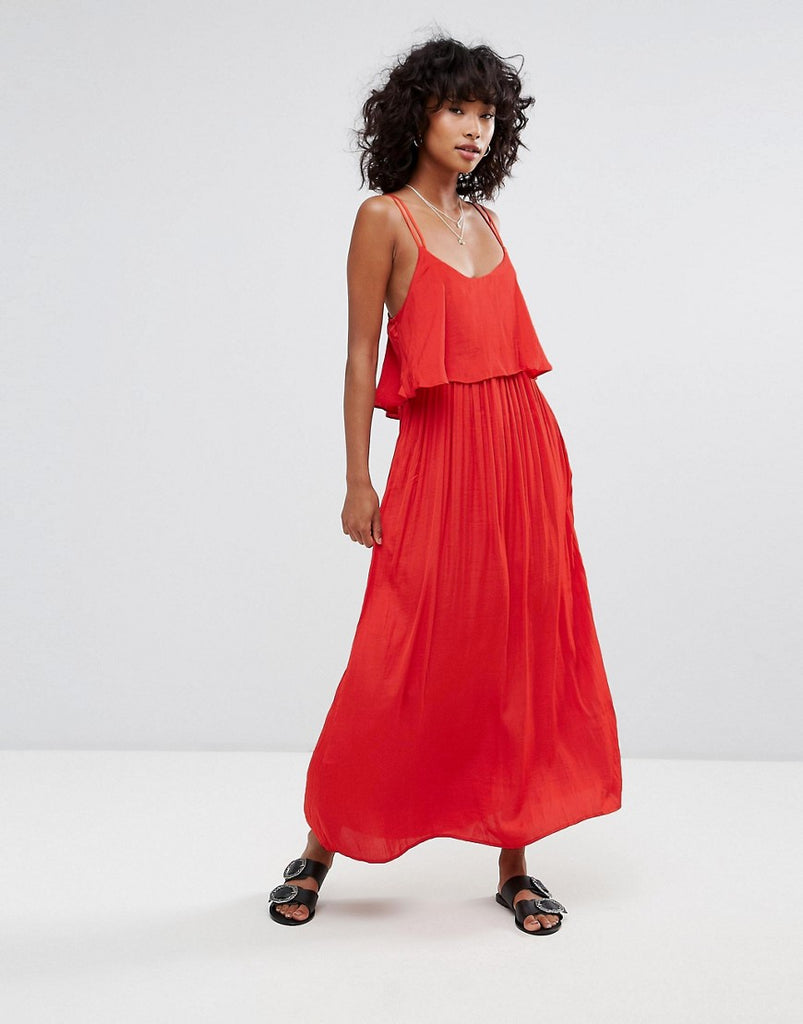 d.RA Brigette Maxi Dress - Scarlet