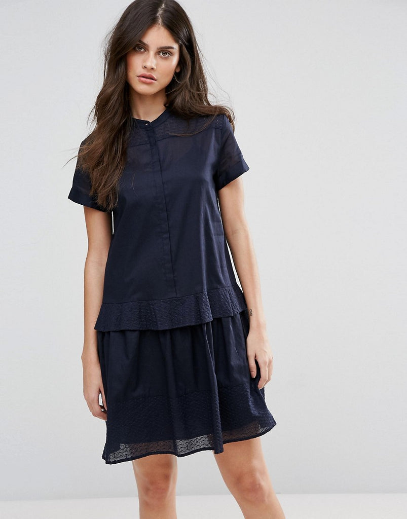 MAX&Co Delia Shirt Dress - Midnight blue