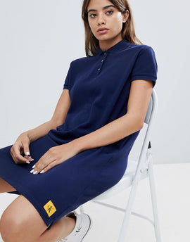 Calvin Klein Jeans Polo Dress - Peacoat