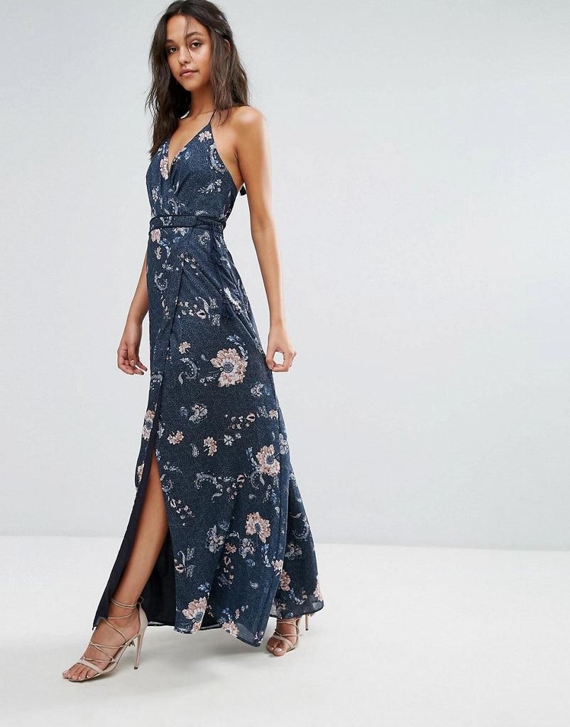 The Jetset Diaries Floral Maxi Dress - Iman floral