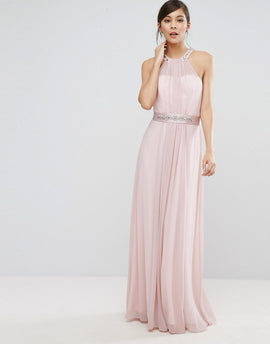 Coast Juliette Maxi Dress - Blush